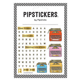Pipsticks Movable Type Stickers