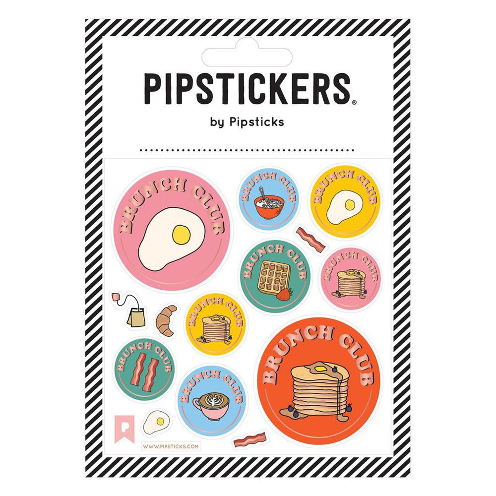 Pipsticks Brunch Club Stickers
