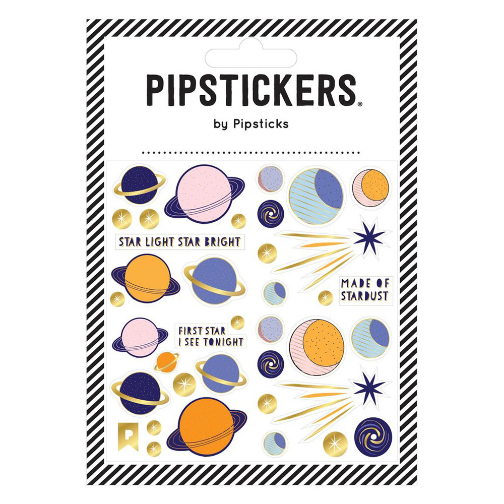 Pipsticks Star Light, Star Bright Stickers
