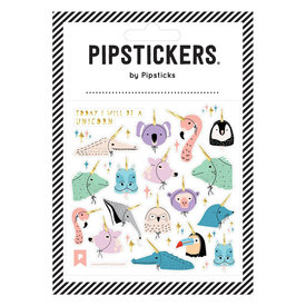 Pipsticks I Will Be A Unicorn Stickers