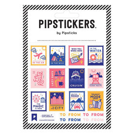 Pipsticks Travel Stamps by Everday Explorers Stickers