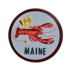 Quiet Tide Goods Quiet Tide Goods Vinyl Sticker - Maine Lobster