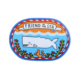 Quiet Tide Goods Quiet Tide Goods Vinyl Sticker - Friend of the Sea