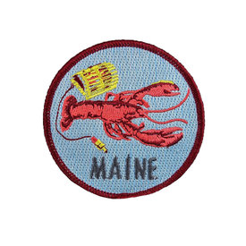 Quiet Tide Goods Quiet Tide Goods Patch - Maine Lobster
