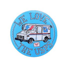 Quiet Tide Goods Quiet Tide Goods Vinyl Sticker - We Love The USPS