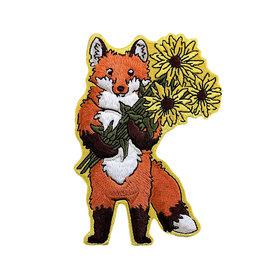 Quiet Tide Goods Quiet Tide Goods Patch - Fox + Flowers