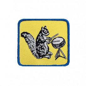 Quiet Tide Goods Quiet Tide Goods Patch - Drumming Squirrel