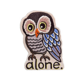 Quiet Tide Goods Quiet Tide Goods Patch - Alone Owl