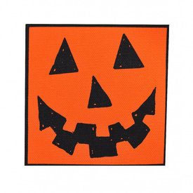 Quiet Tide Goods Quiet Tide Goods Canvas Patch - Jack-O-Lantern