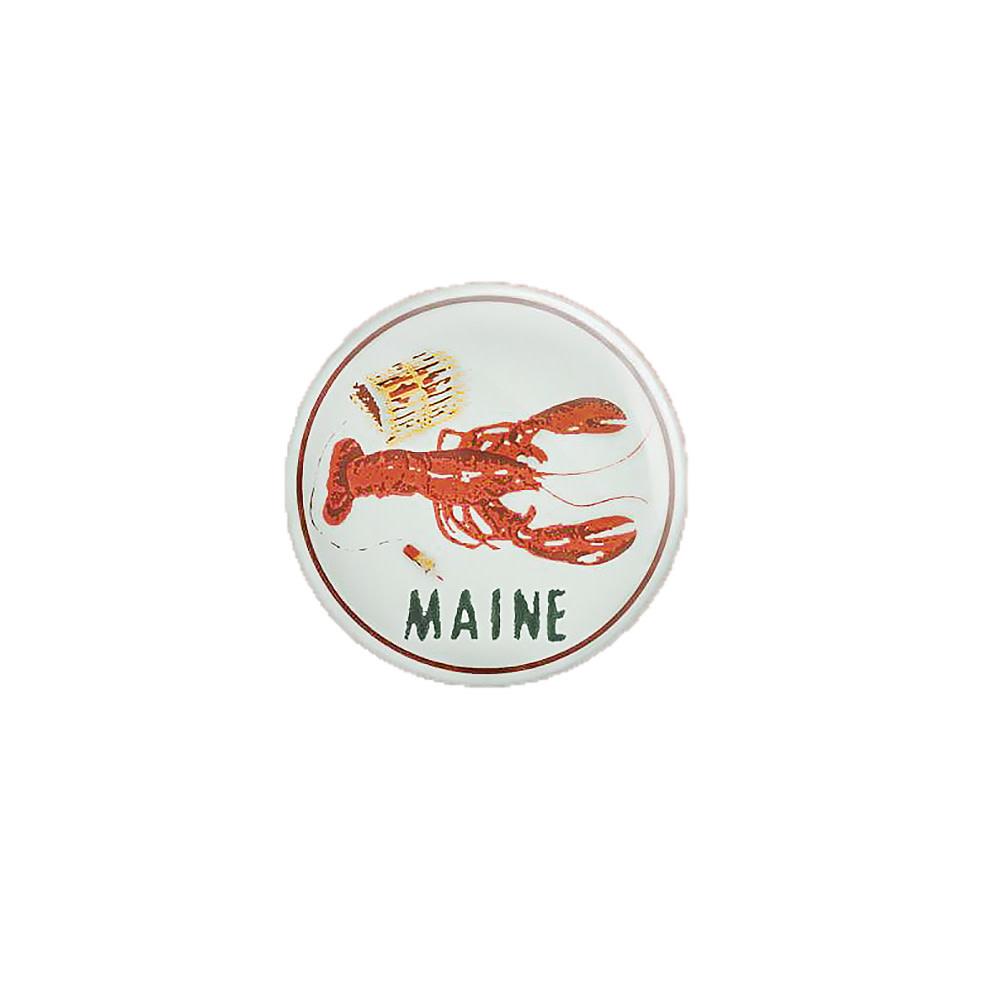 Quiet Tide Goods Button - Maine Lobster