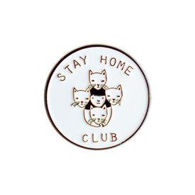 Stay Home Club Stay Home Club Lapel Pin - Stay Home Club