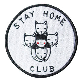 Stay Home Club Stay Home Club Iron-On Patch - Stay Home Club