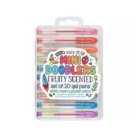 Ooly Mini Doodlers Fruity Scented Gel Pens Set