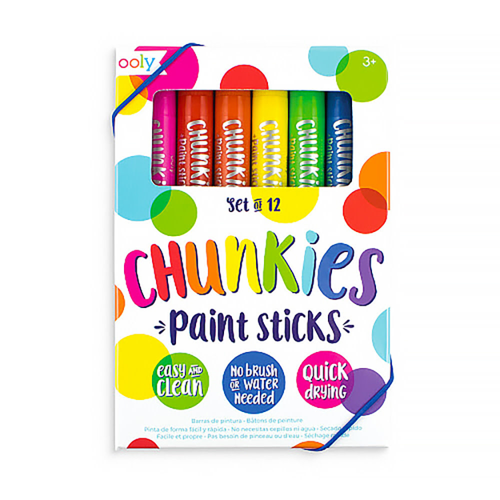 Ooly Chunkies Paint Sticks Set - Classic