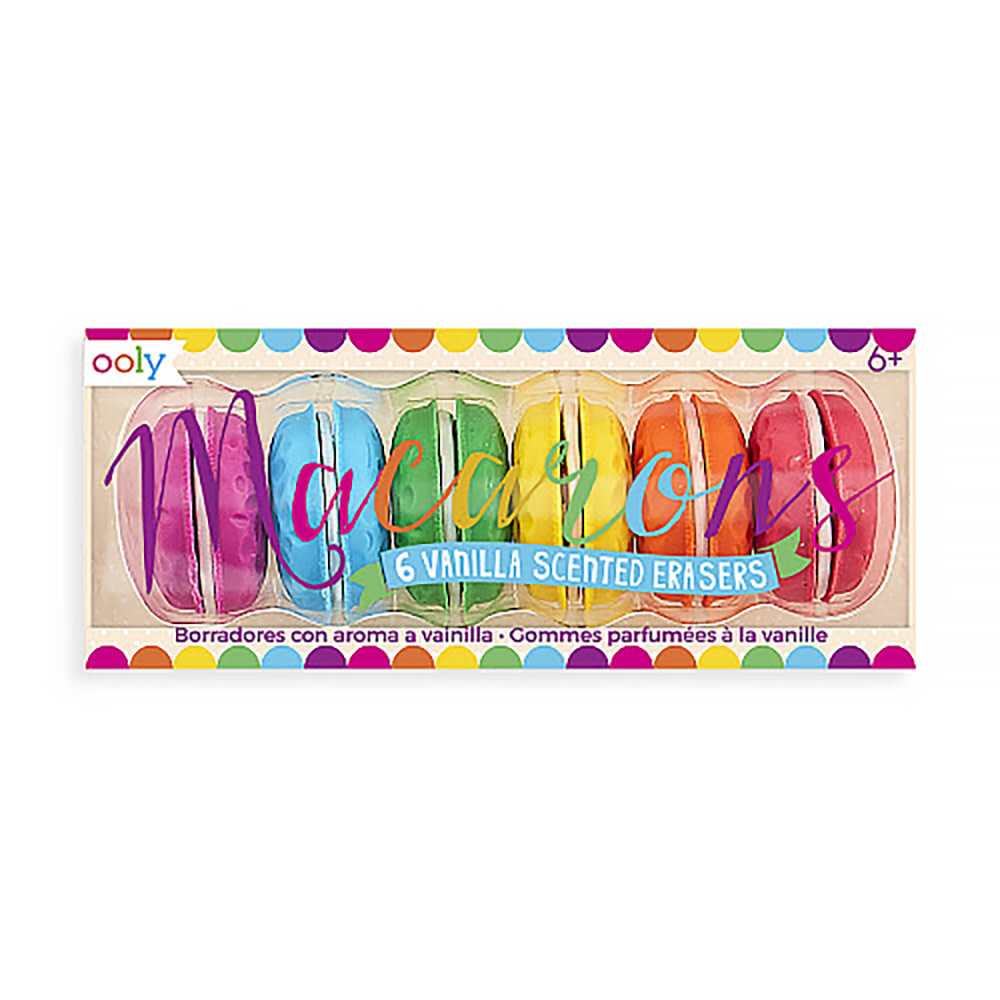 Macaron Scented Erasers Set