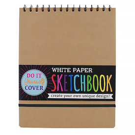 Ooly DIY Sketchbook - Large - White