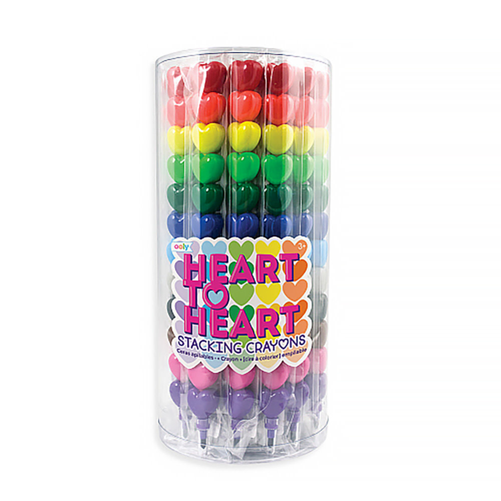 Heart to Heart Stacking Crayon