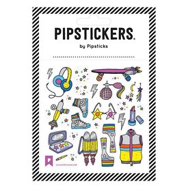 Pipsticks Galactic Fashion Stars Stickers