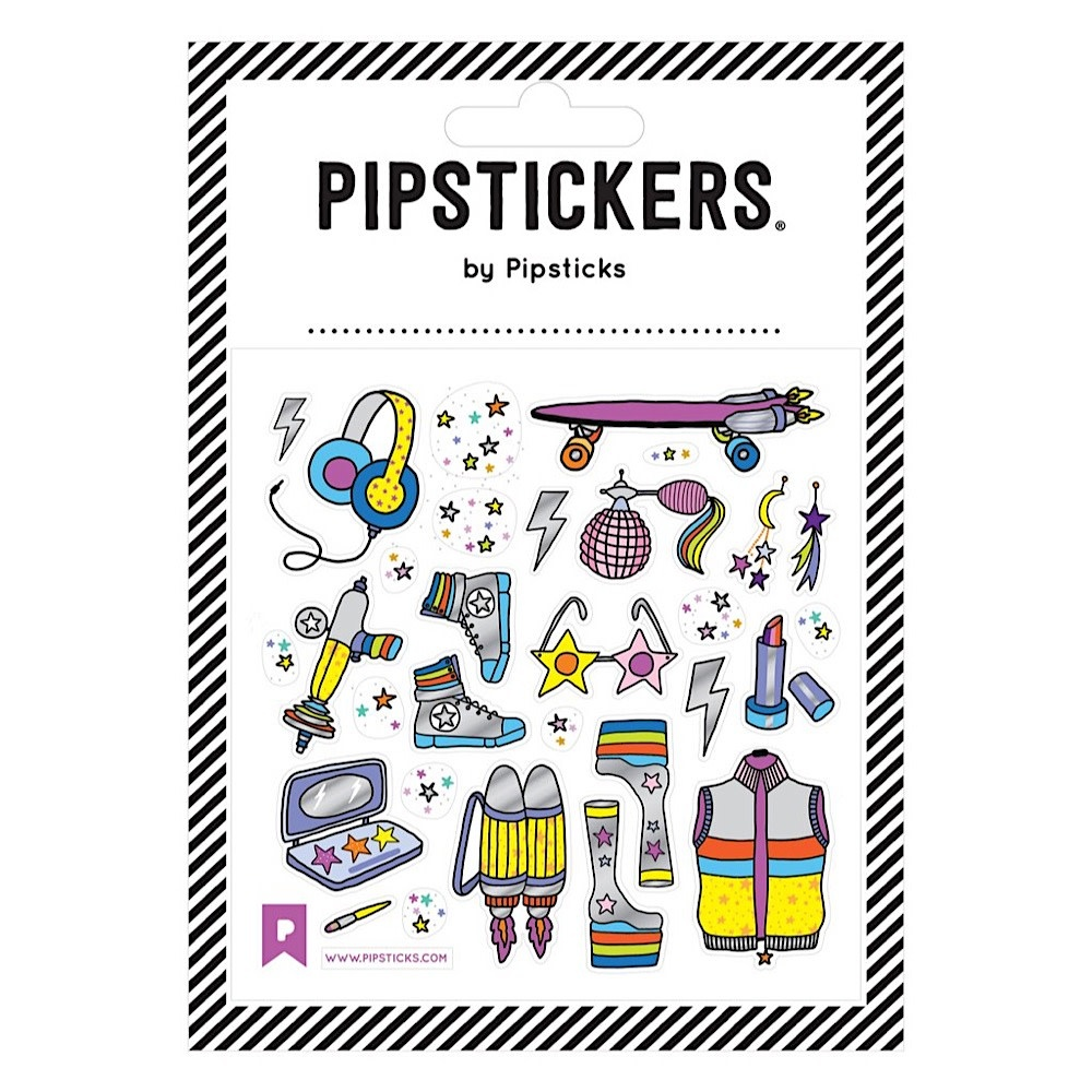 Pipsticks Galactic Fashion Stars Stickers
