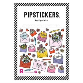 Pipsticks Care Mail Stickers