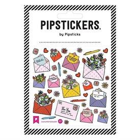 Pipsticks Care Mail Stickers