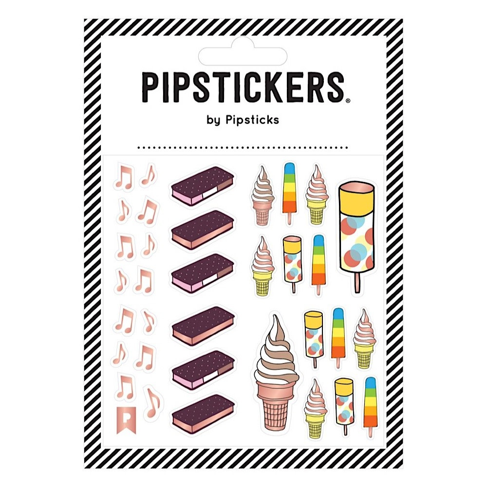Pipsticks I Scream For Ice Cream Stickers