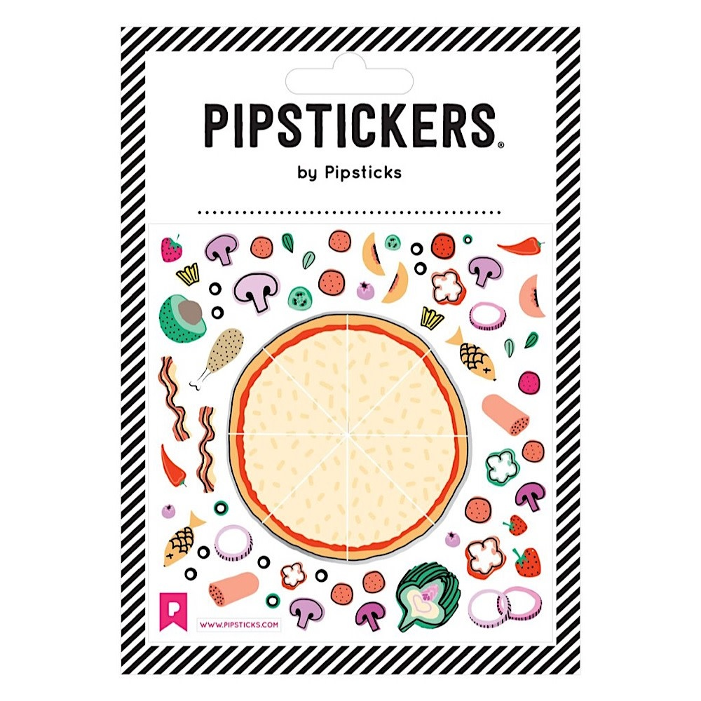 Pipsticks Take a Pizza My Heart Stickers