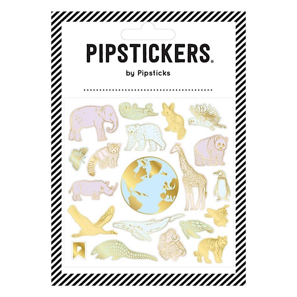 Global Treasures Stickers