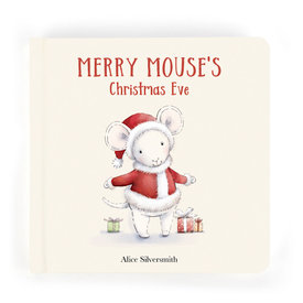 Jellycat Jellycat Merry Mouse's Christmas Eve Book