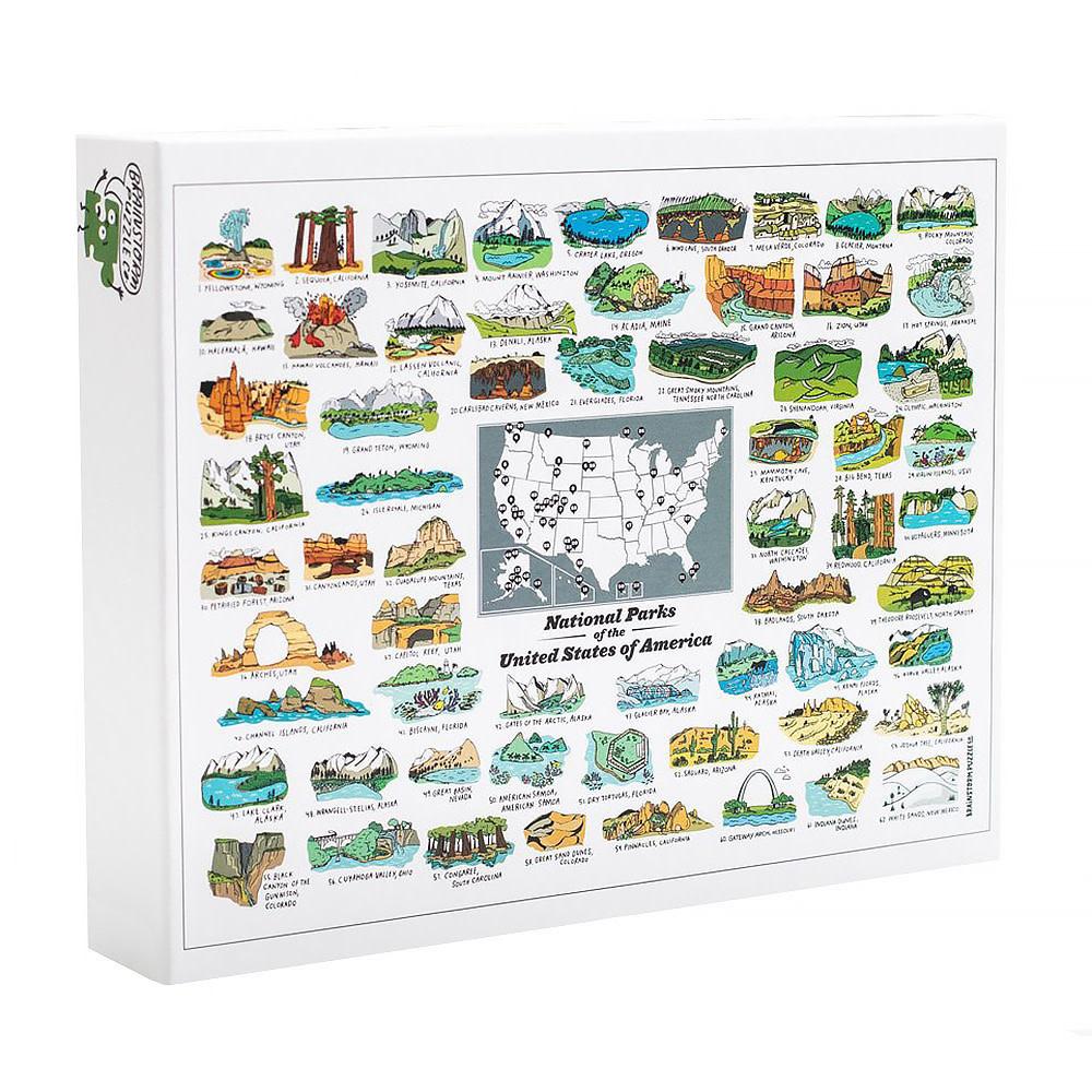 We Are Brainstorm National Parks Puzzle - 500 pieces