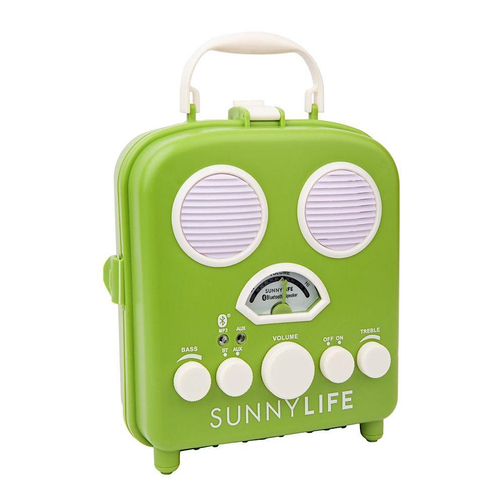 Sunnylife Sunnylife Beach Sounds Portable Speaker and Radio - Olive