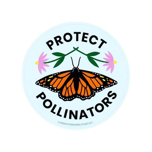 Hannah Rosengren Sticker - Protect Pollinators