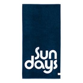 Sunnylife Sunnylife Luxe Towel Nouveau Bleu - Indigo