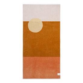 Sunnylife Sunnylife Luxe Towel Desert Palms - Powder Pink