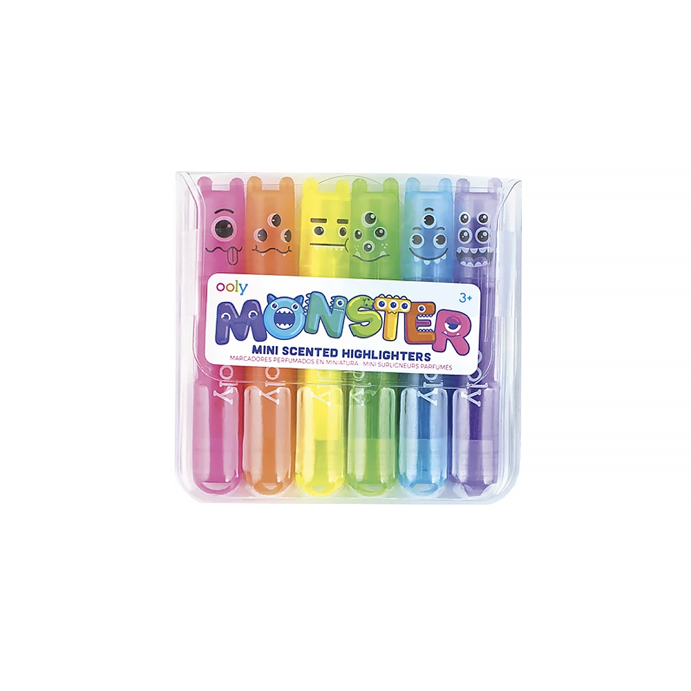 Mini Monster Scented Marker Set