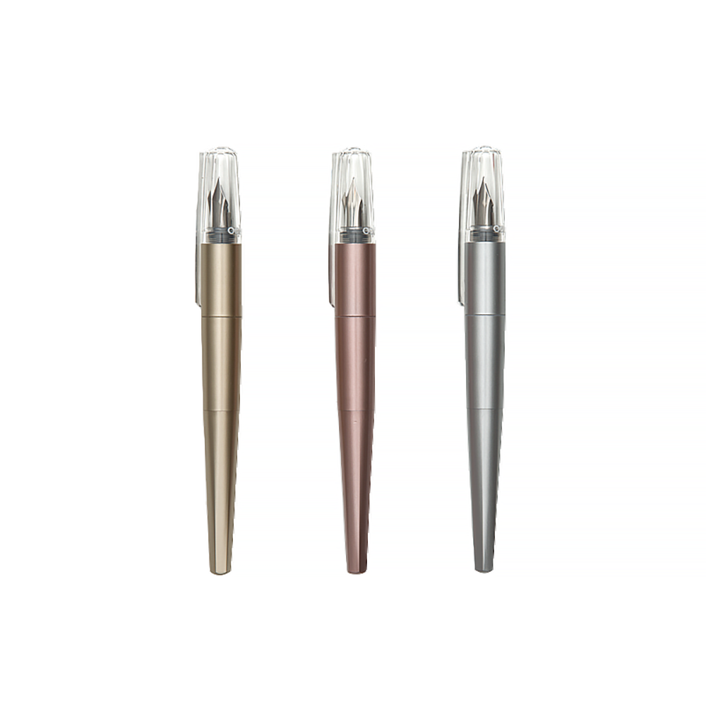 Modern Script Fountain Pens + Journal Set