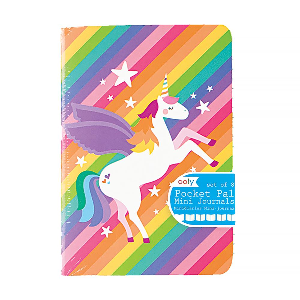 Mini Pocket Pal Journals Set - Unique Unicorns