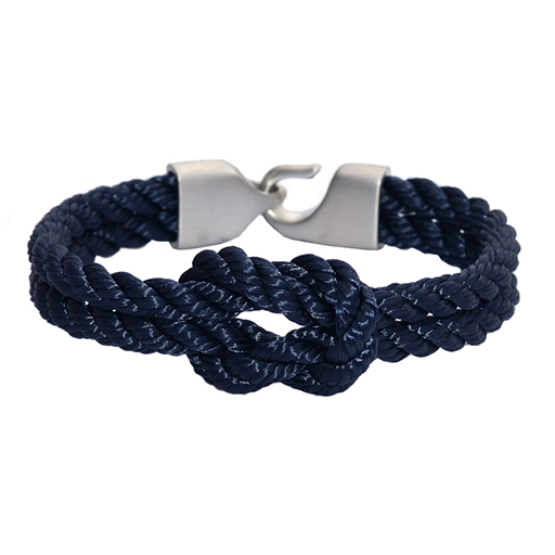 Lemon & Line Vineyard Bracelet - Navy