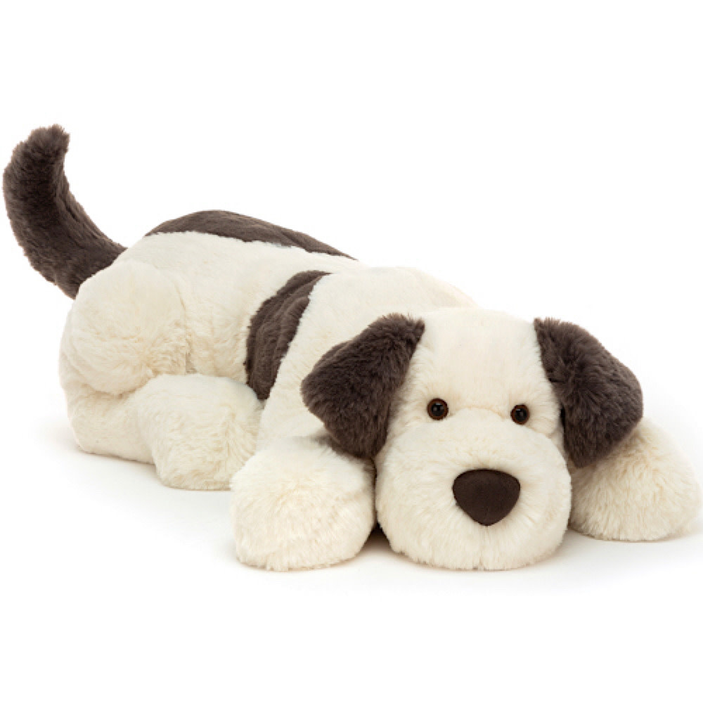 Jellycat Jellycat Bashful Fudge Puppy - Huge - 21 Inches