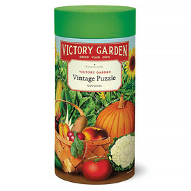 Cavallini Papers & Co., Inc. Cavallini Jigsaw Puzzle - Victory Garden - 1000 Pieces