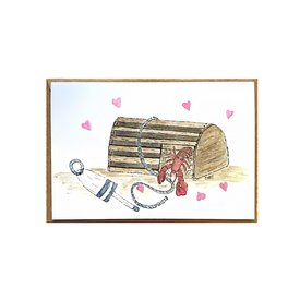 Cindy Shaughnessy Cindy Shaughnessy Greeting Card - Lobster Trap Love