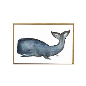 Cindy Shaughnessy Cindy Shaughnessy Greeting Card - Whale