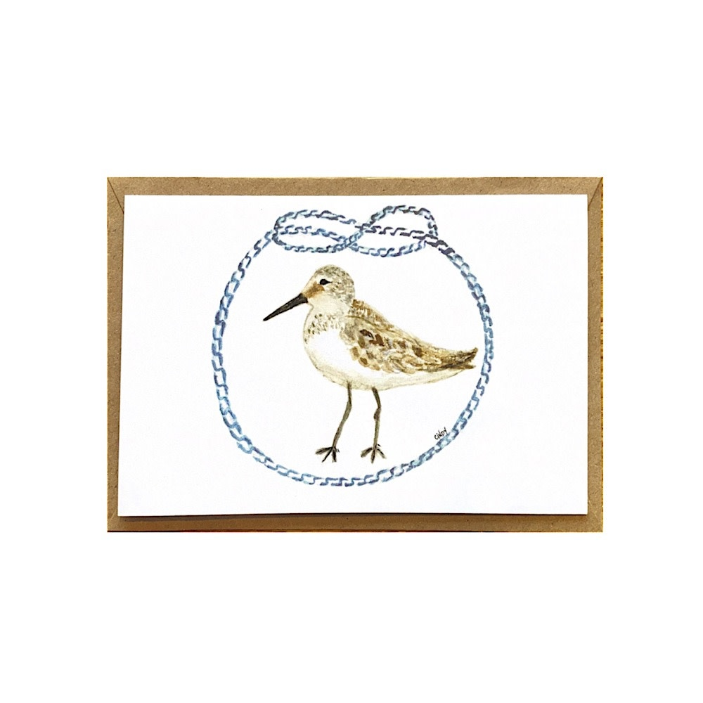 Cindy Shaughnessy Greeting Card - Sandpiper