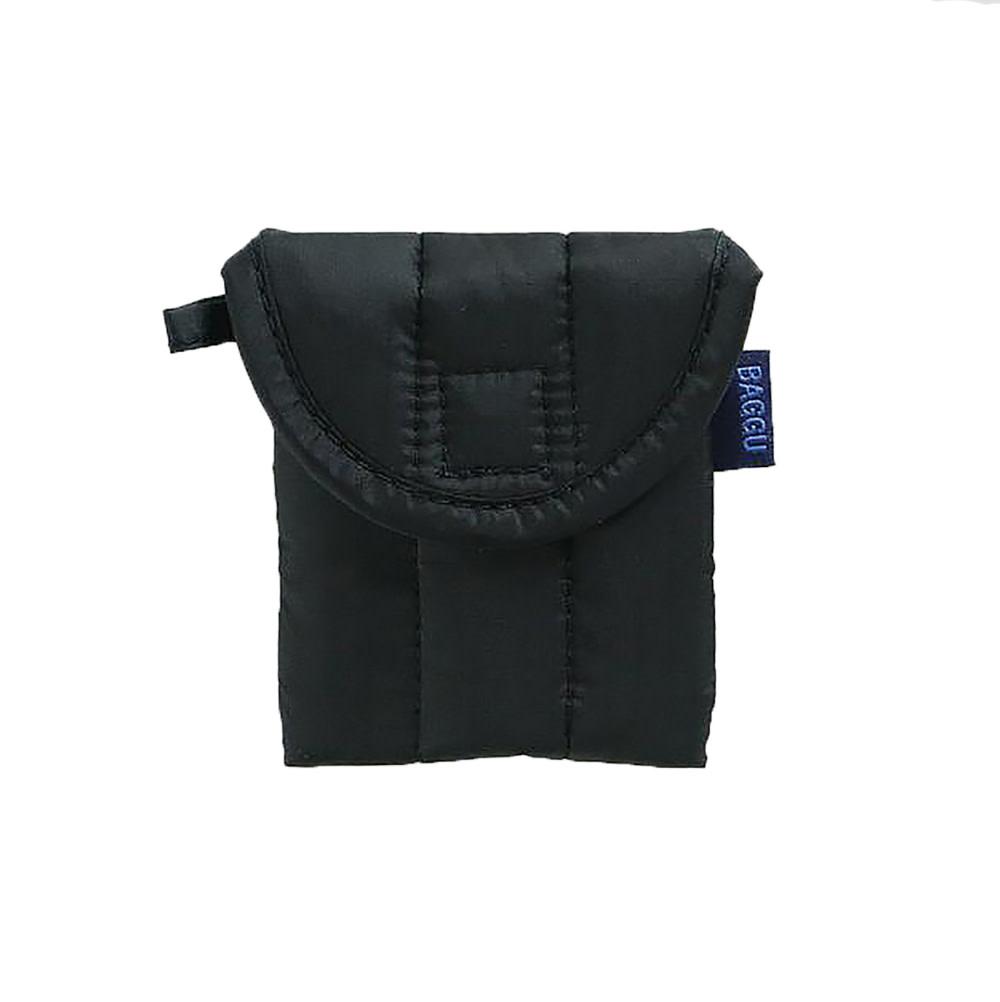 Baggu Puffy Earbuds Case - Black