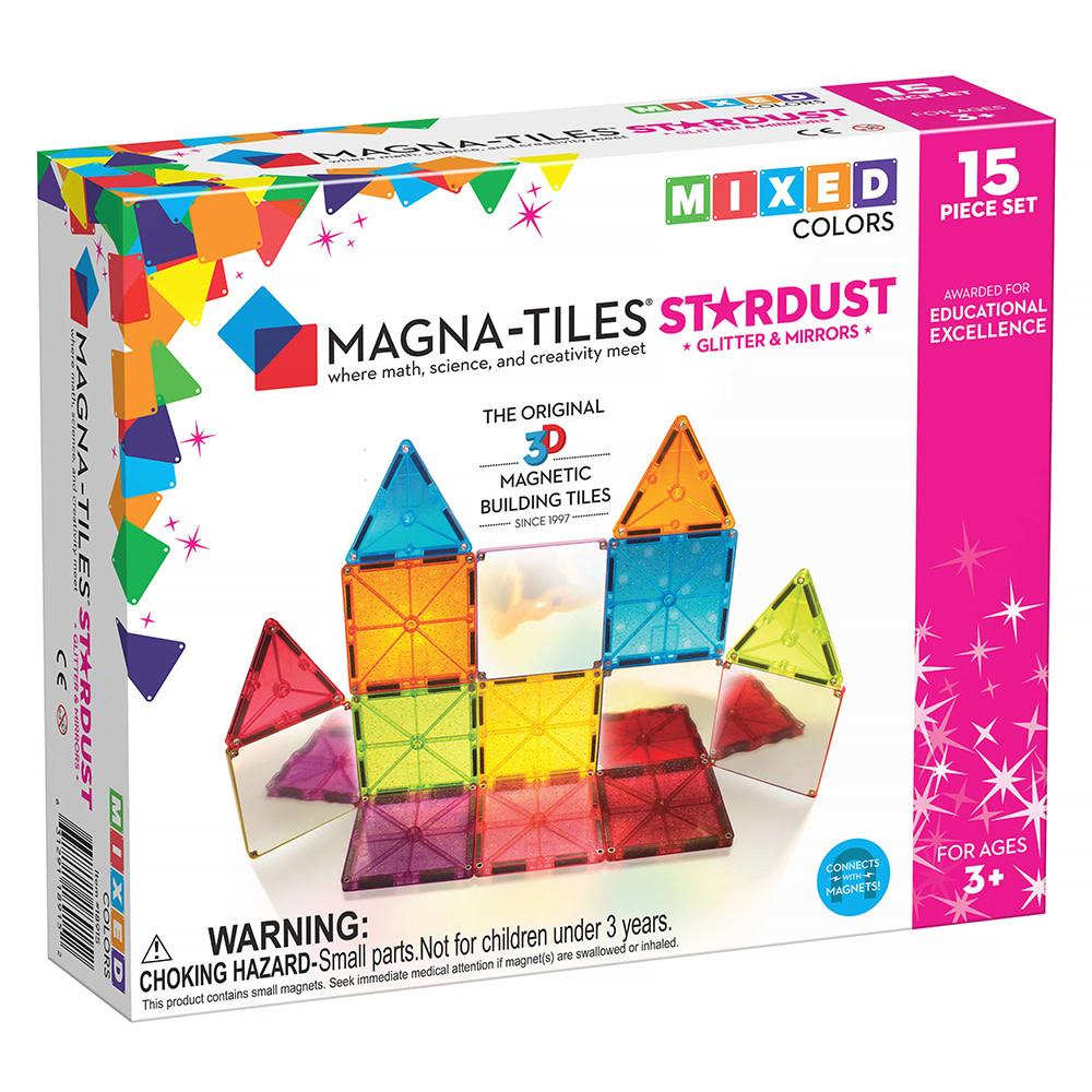 Magna-Tiles Magna-Tiles Stardust 15 Piece Set