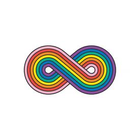 Tattly Tattly Tattoo 2-Pack - Forever Rainbow
