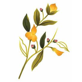 Tattly Tattly Tattoo 2-Pack - Yellow Flower