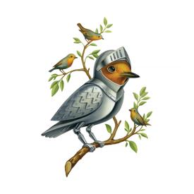 Tattly Tattly Tattoo 2-Pack - Armored Bird