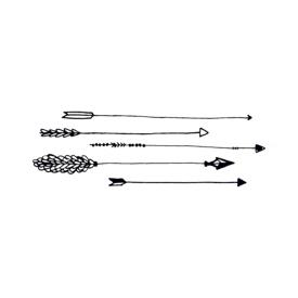 Tattly Tattly Tattoo 2-Pack - Arrows