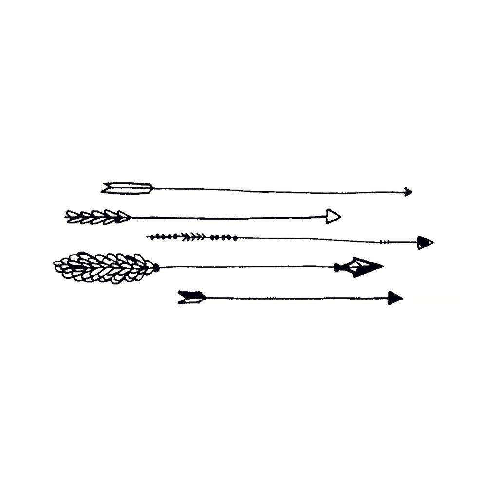 Tattly Tattoo 2-Pack - Arrows